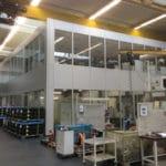 Hallenanbau Maschinenhalle Weber