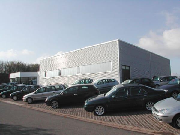 Werkstatthalle Autohaus Klos Schmidt