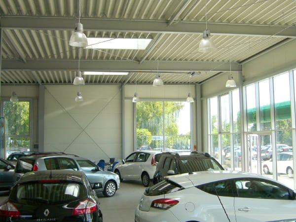 Erweiterung Ausstellungsgebäude Autohaus Graf