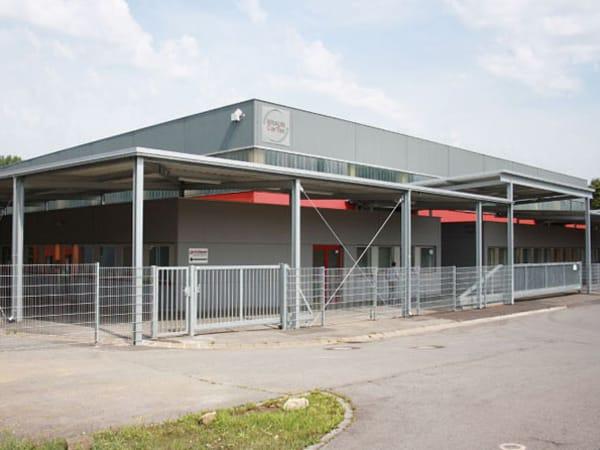 Erweiterung Produktionshalle Braun Cartec