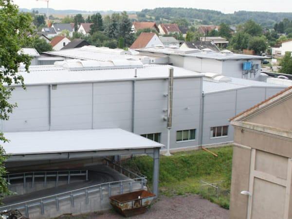 Erweiterung Produktionshalle Schwalbach