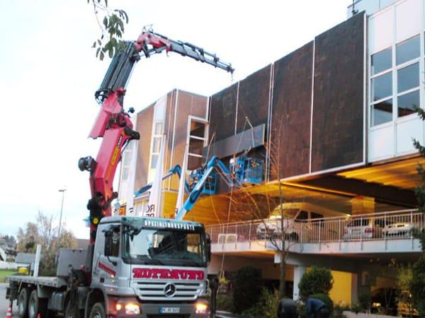 Fassadensanierung Verkleidung