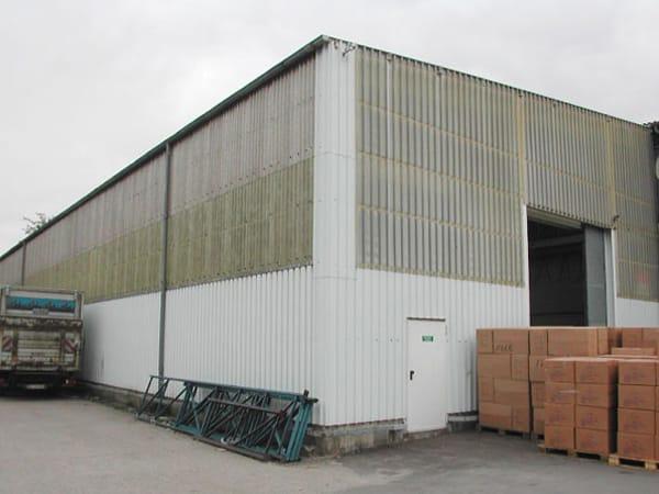 Gebäudesanierung Produktionshalle Dach