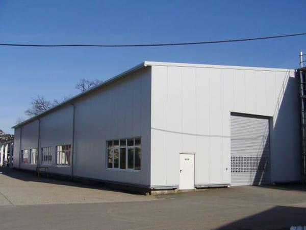 Gebäudesanierung Produktionshalle Planung