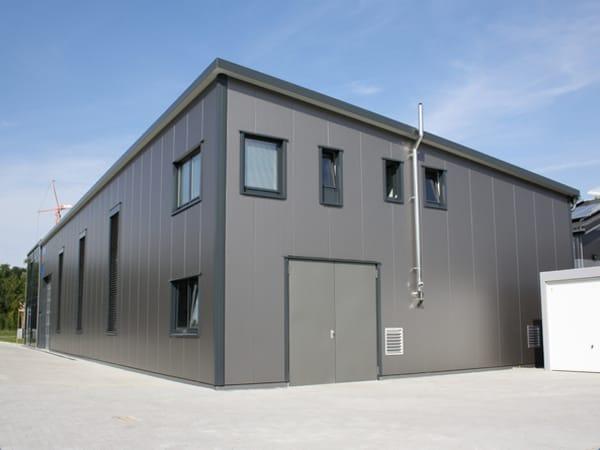 Gewerbebau mit Büro Neubau