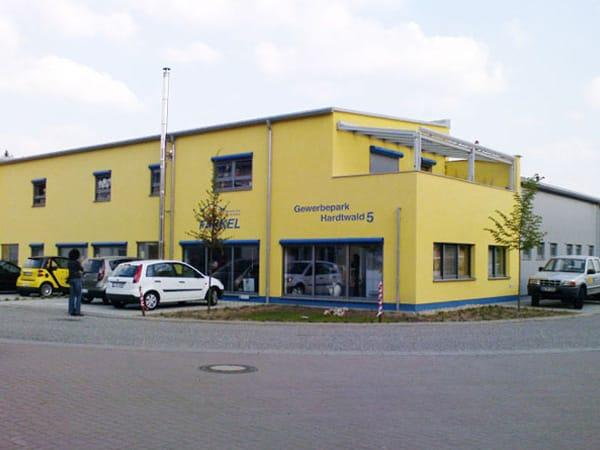 Hallenbau Büro