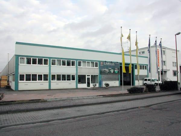 Hallensanierung Lagerhalle Schweikert