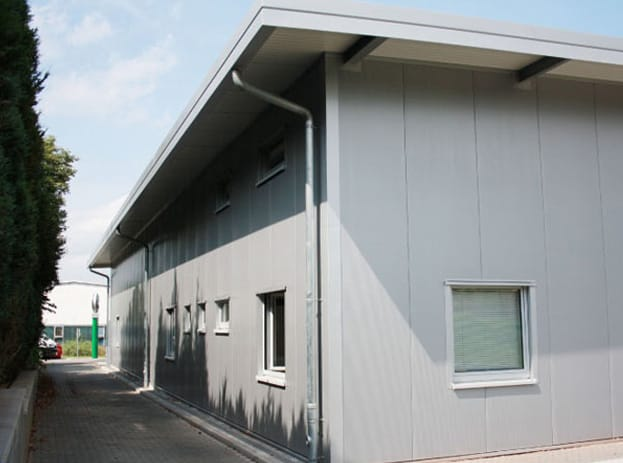Neubau Ausstellungsgebäude Autohaus