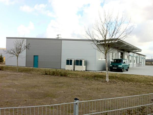 Neubau Betriebsgebäude Hilo