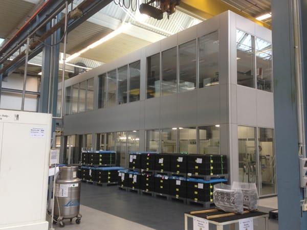 Neubau Maschinenhalle
