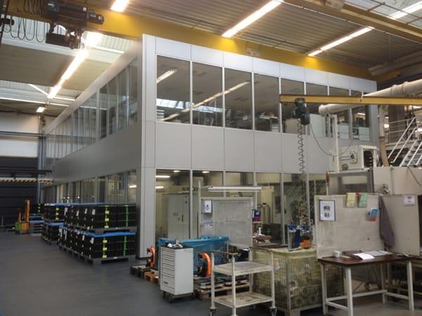 Neubau Maschinenhalle Weber