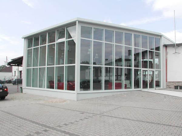 Neubau Verkaufsgebäude Bruchsal