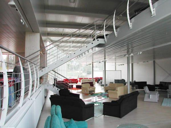 Neubau Verkaufsgebäude innen