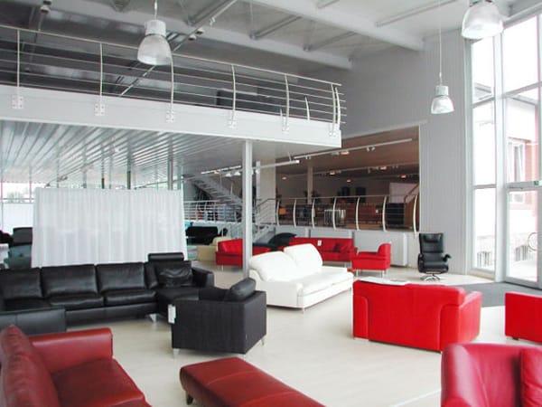 Neubau Verkaufsgebäude Möbel