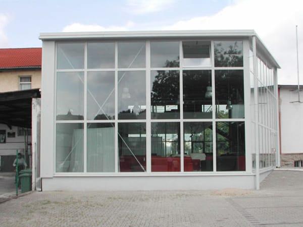 Neubau Verkaufsgebäude