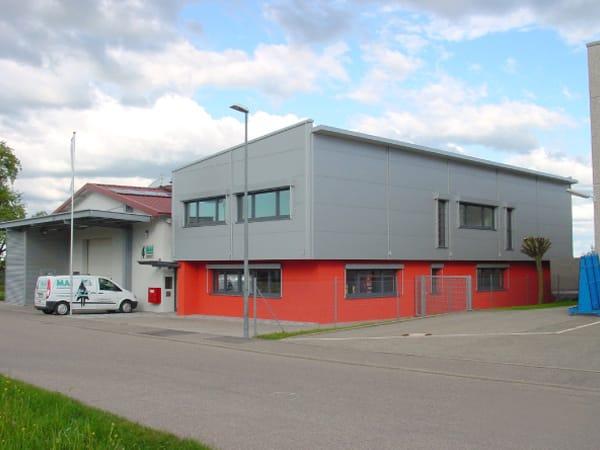 Neubau Verwaltungsgebäude Mai