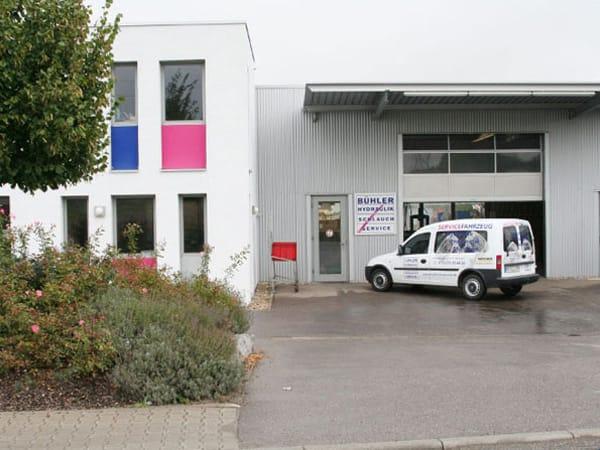 Neubau Werkstatthalle