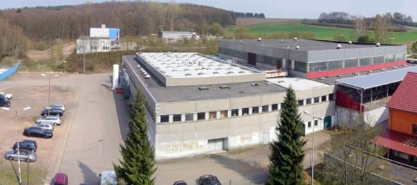 Produktionshalle Braun Cartec