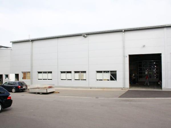 Produktionshalle Erweiterung