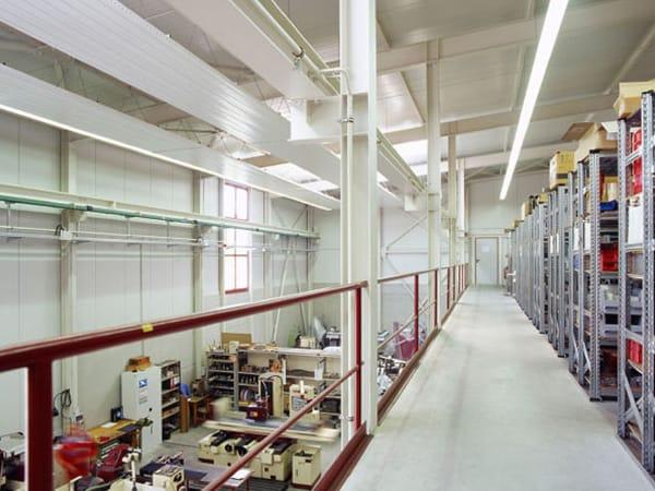 Produktionshallen Erweiterung