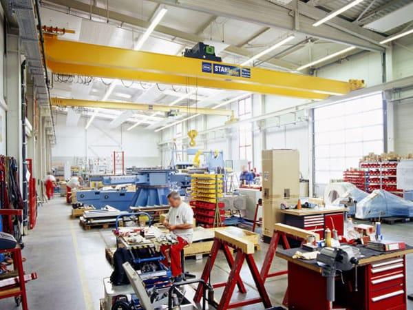 Produktionshallen Erweiterung Remchingen