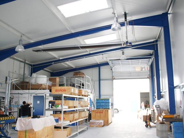Schlüsselfertige Produktionshalle Neubau