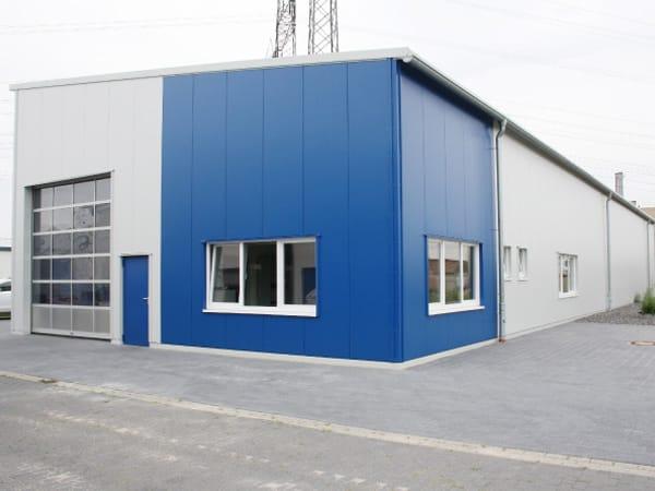 schlüsselfertige Produktionshalle SD