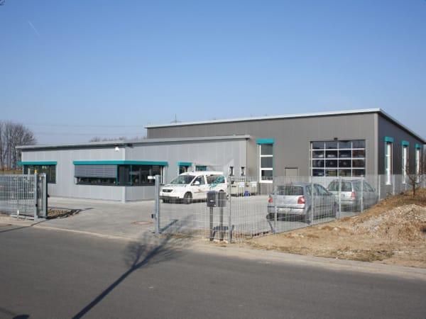 Schlüsselfertiger Industriebau