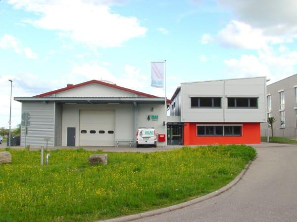 Schlüsselfertiger Neubau Verwaltungsgebäude