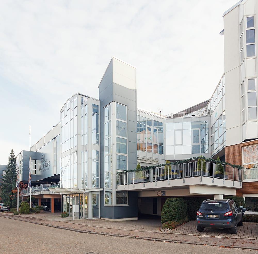 Fassadensanierung Verkaufsgebäude