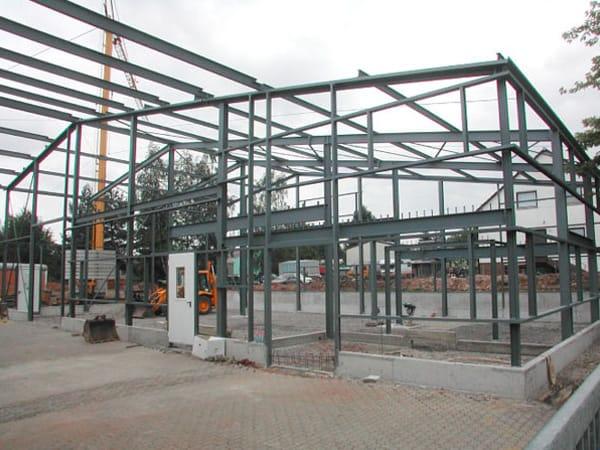 Gewerbehalle bauen