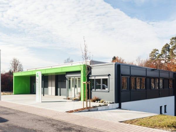 Gewerbehalle bauen Ganzhorn
