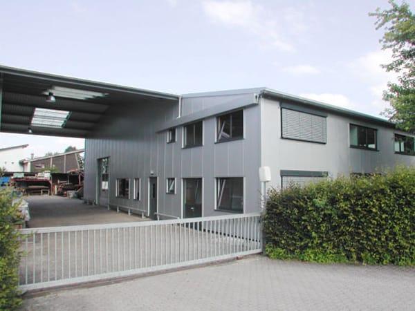 Gewerbehalle bauen Morlock