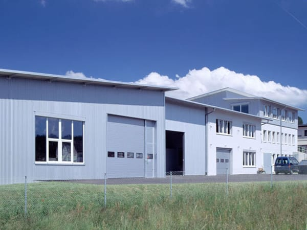 Industriebau Aufstockung Hapema