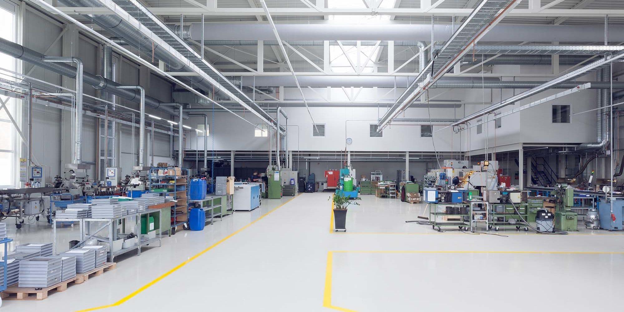 teilschlüsselfertiger Industriebau