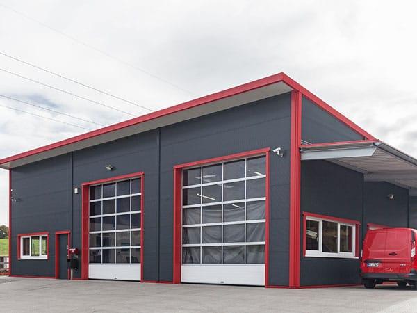 Neubau Montagehalle TCC