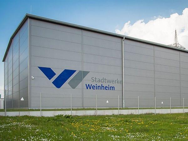 schlüsselfertige Industriehalle Stadtwerke